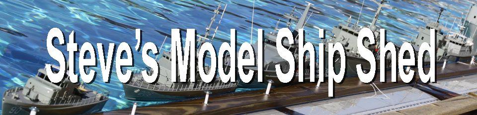 Steves Model Ships Shed